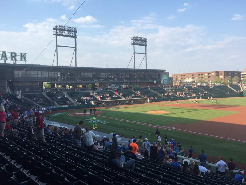 Seating view for Huntington Park Section 5 Row T Seat 17