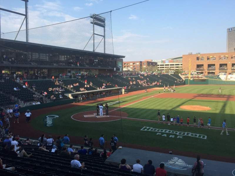 Seating view for Huntington Park Section 8 Row T Seat 15