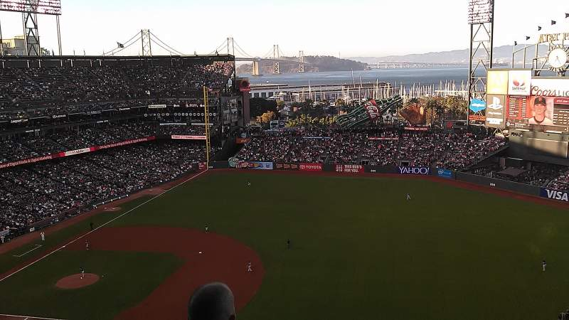 Seating view for AT&T Park Section 304 Row 14 Seat 10