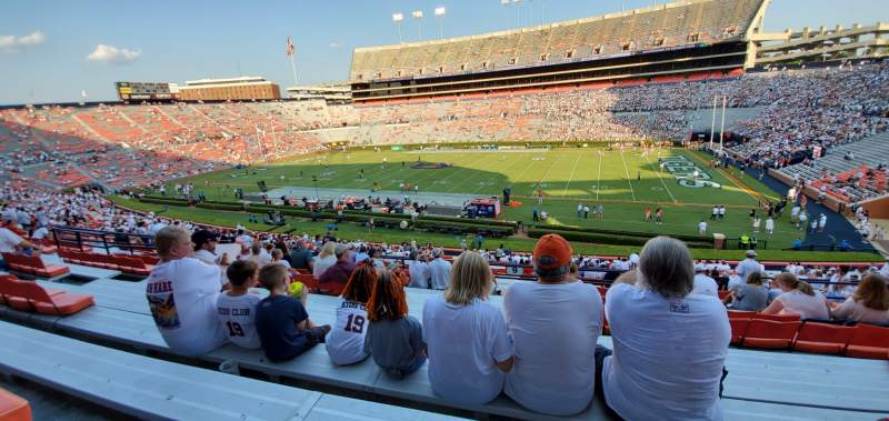 Seating view for Jordan-Hare Stadium Section 9 Row 40 Seat 10