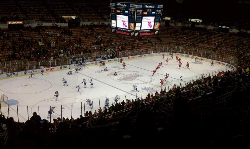 Seating view for Joe Louis Arena Section 212b Row 18 Seat 11