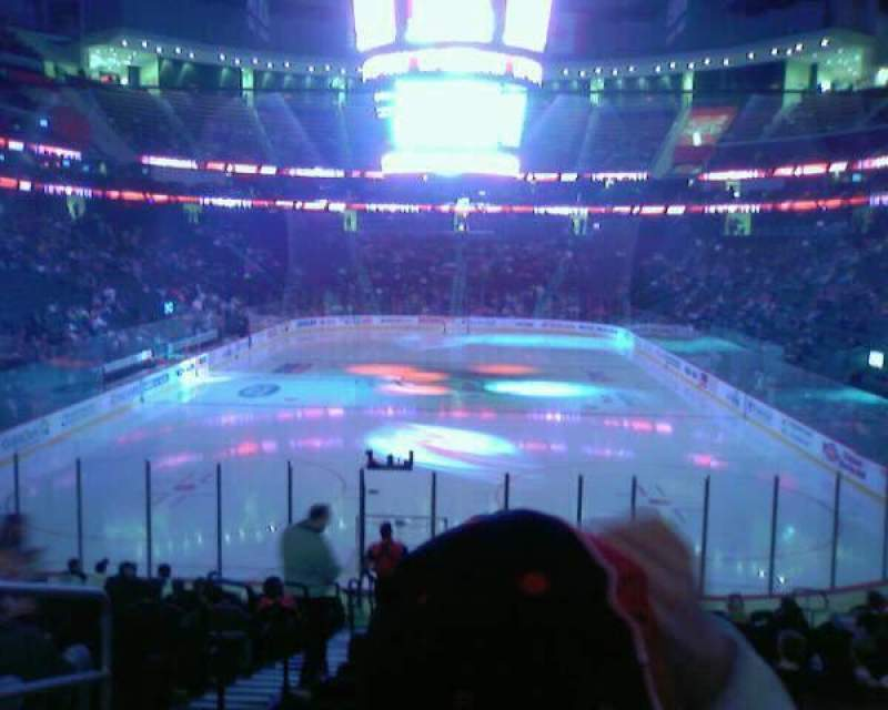 Seating view for Prudential Center Section 14 Row 17