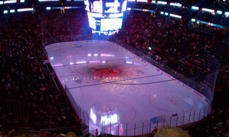 Seating view for Prudential Center Section 118 Row 14 Seat 14