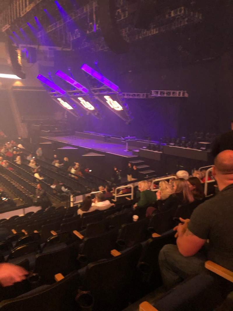 Seating view for Infinite Energy Arena Section 106 Row N Seat 10