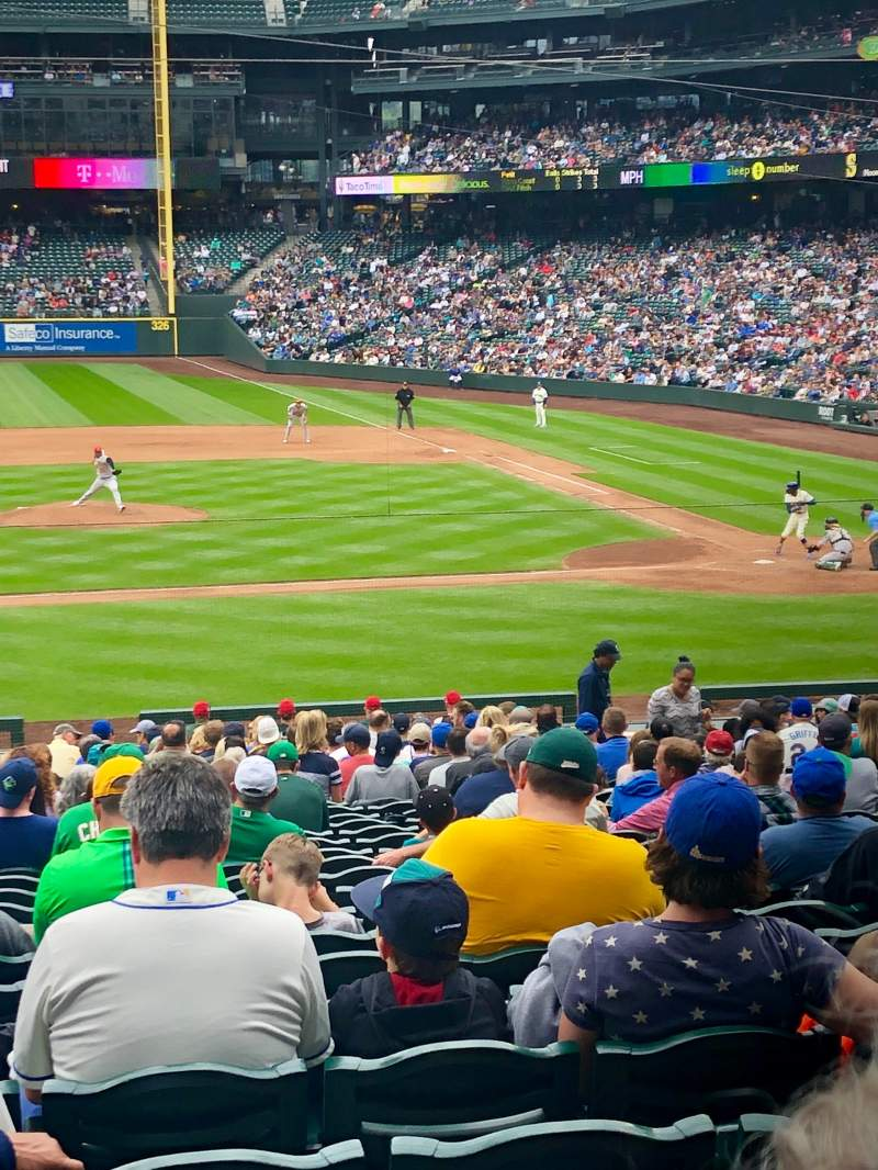 Seating view for T-Mobile Park Section 137 Row 31 Seat 10