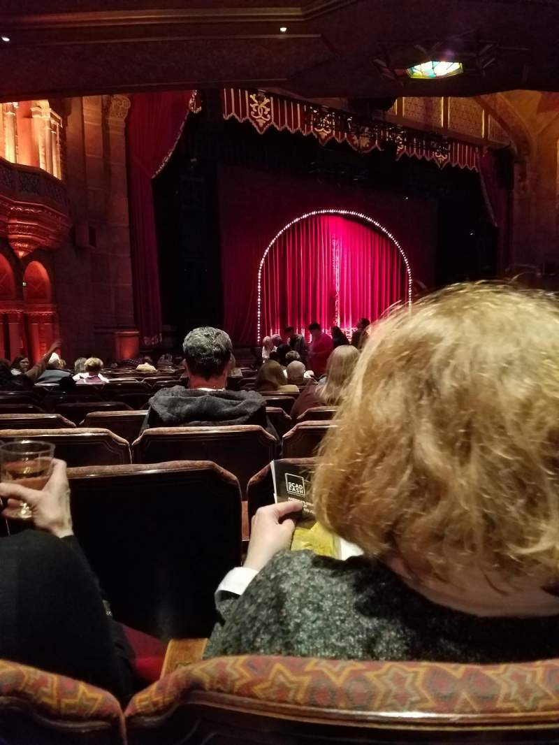 Seating view for Fox Theatre (Atlanta) Section Orchestra L Row AA Seat 23