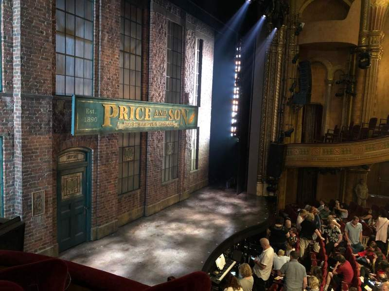 Seating view for Al Hirschfeld Theatre Section LEFT BOX Row C Seat 10