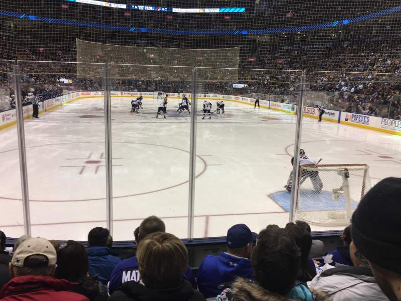 Seating view for Scotiabank Arena Section 114 Row 10 Seat 9