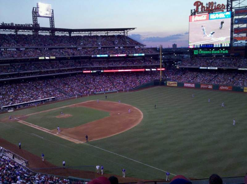 Seating view for Citizens Bank Park Section 309 Row 5 Seat 24