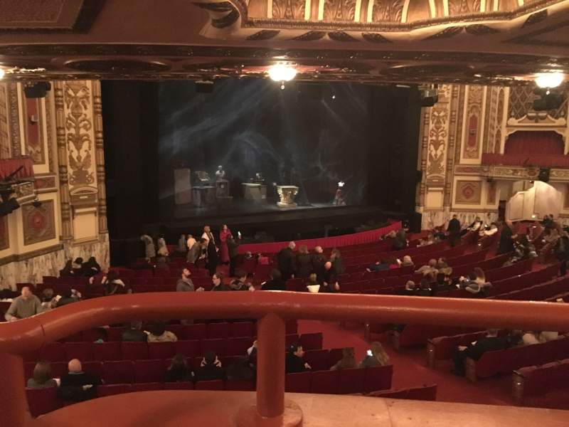 Seating view for Cadillac Palace Theater Section Dress Circle L