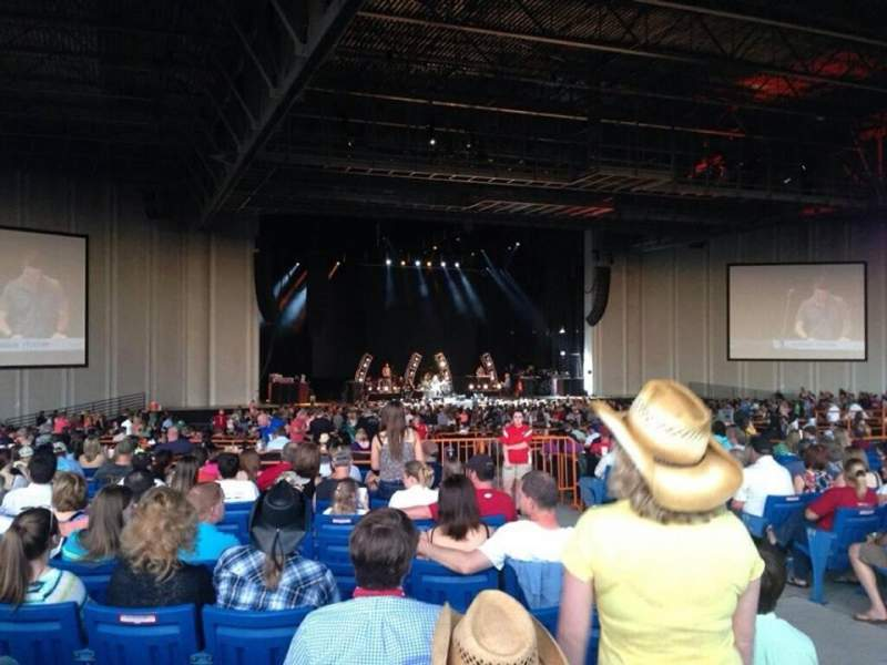Seating view for PNC Music Pavilion Section 8 Row u Seat 4