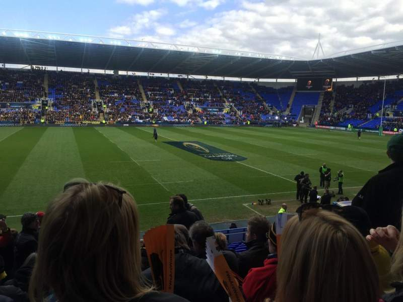 Seating view for Madejski Stadium Section G8 Row W
