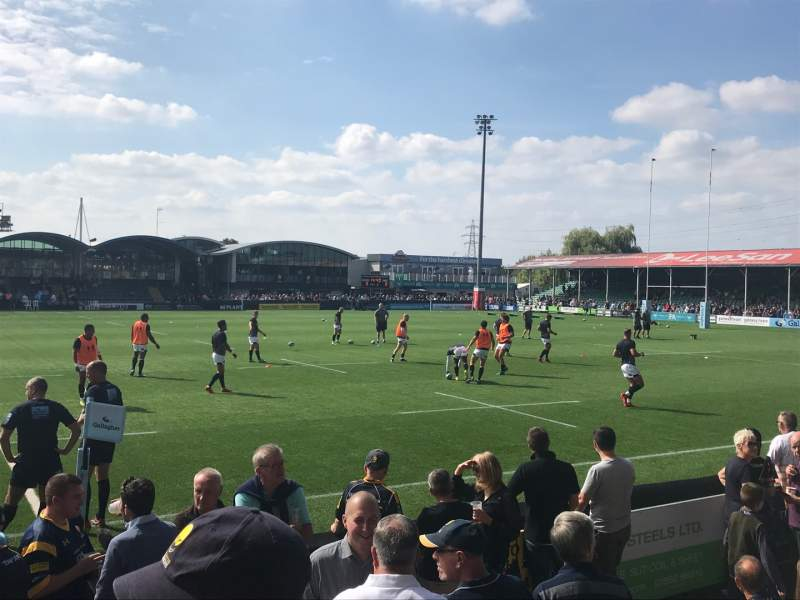 Seating view for Sixways Stadium Section East E Row F Seat 129