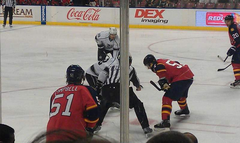 Seating view for BB&T Center Section 115 Row 7 Seat 2