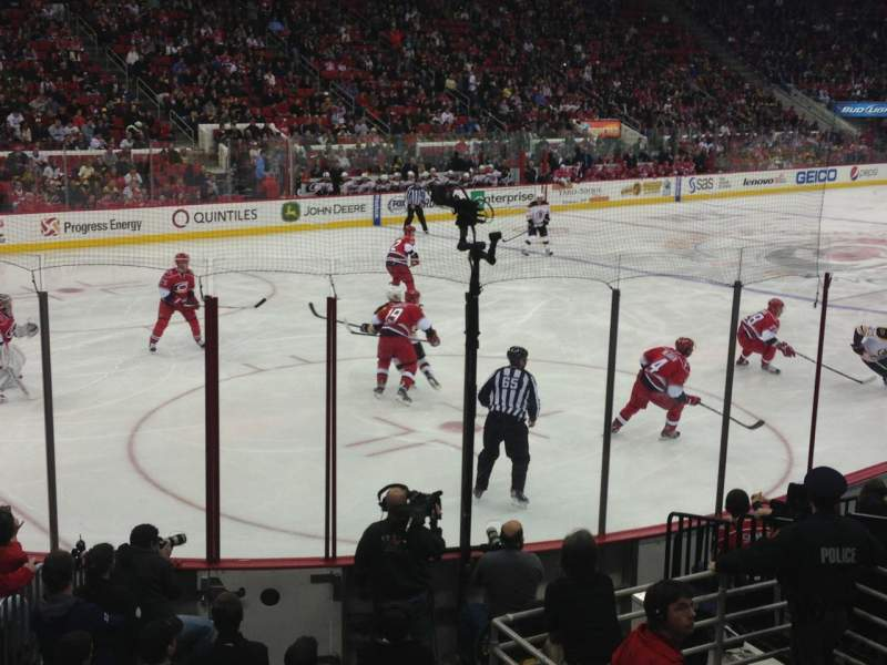 Seating view for PNC Arena Section 123 Row M Seat 10