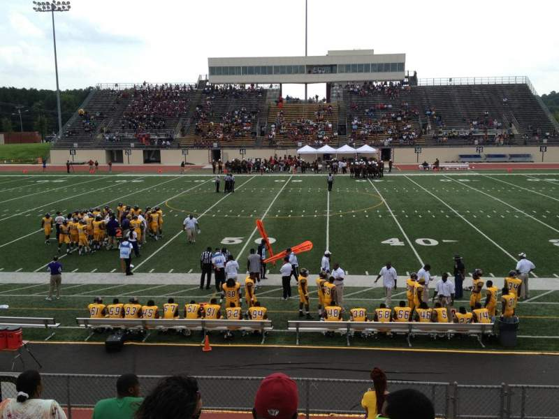 Seating view for Durham County Memorial Stadium