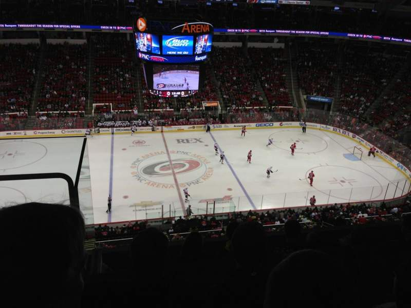 Seating view for PNC Arena Section 324 Row E Seat 24