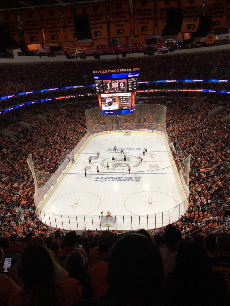 Seating view for Wells Fargo Center Section 219A Row 13 Seat 11