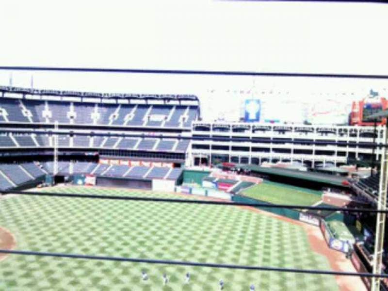 Seating view for Globe Life Park in Arlington Section 339 Row 2 Seat 14