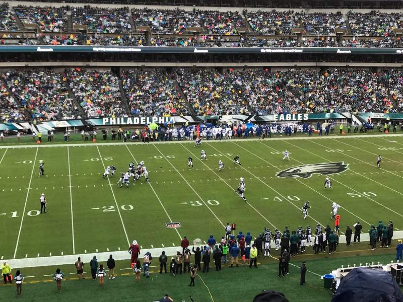 Seating view for Lincoln Financial Field Section C38 Row 4 Seat 8