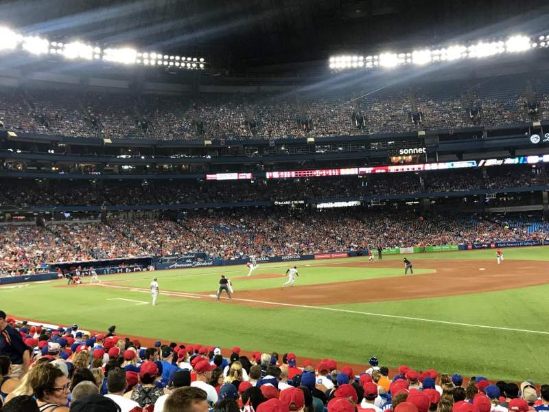Rogers Centre, section: 113BL, row: 16, seat: 101