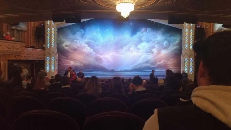 Seating view for Eugene O'Neill Theatre Section Orchestra C Row S Seat 107