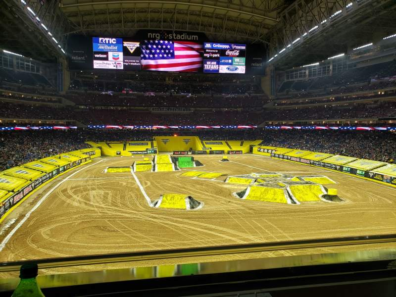 Seating view for NRG Stadium Section 325 Row A Seat 8