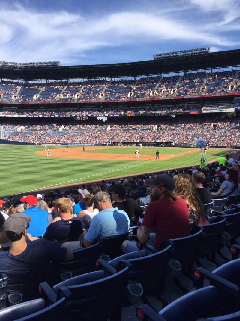 Seating view for Turner Field Section 146 Row 20 Seat 114