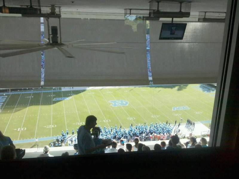 Seating view for Kenan Memorial Stadium