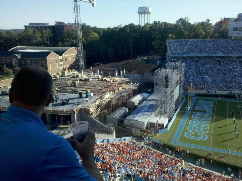 Seating view for Kenan Memorial Stadium Section 201