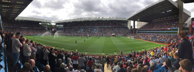 Seating view for Villa Park Section 01