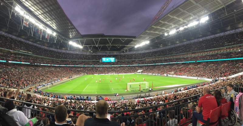 Seating view for Wembley Stadium Section 112 Row 31 Seat 27