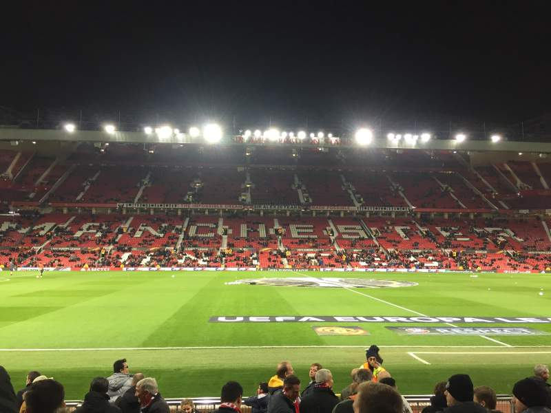 Seating view for Old Trafford Section STH124 Row 2 Seat 151