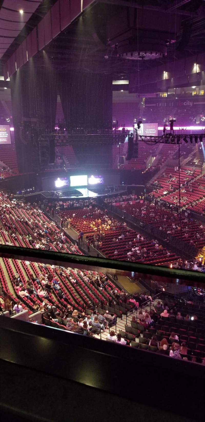 Seating view for Moda Center Section 330 Row A Seat 1