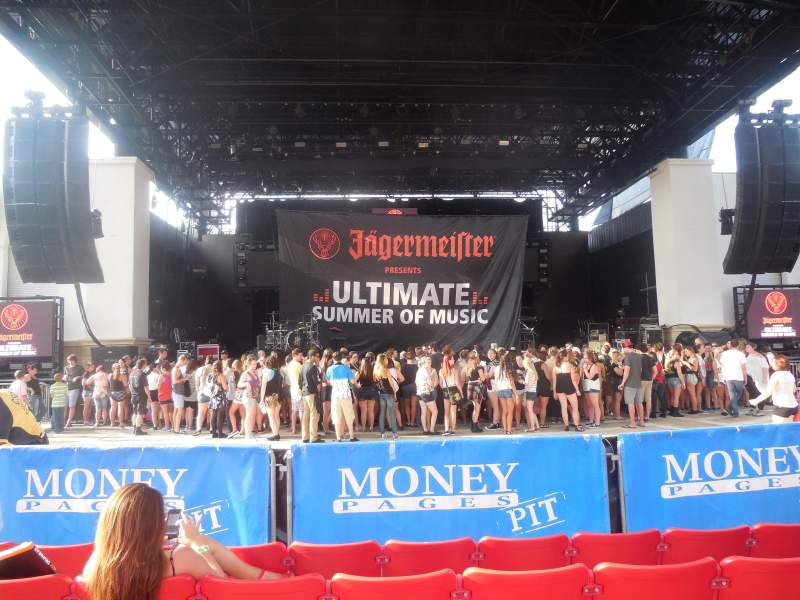 Seating view for St. Augustine Amphitheatre Section 102 Row E Seat 120
