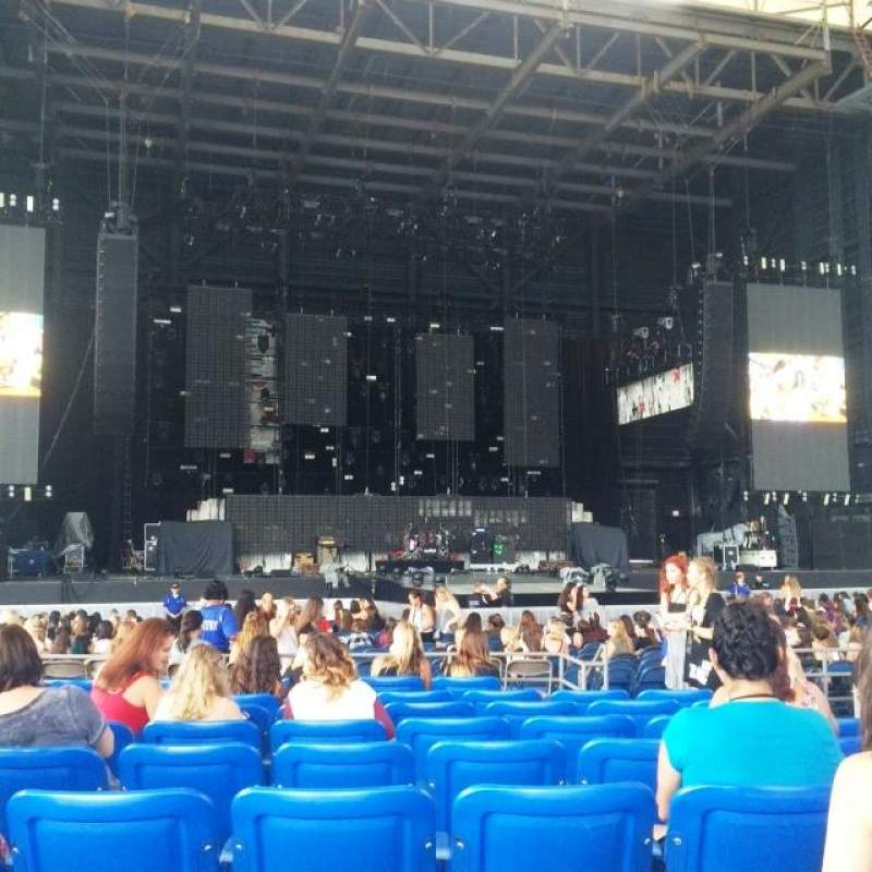 Seating view for MidFlorida Credit Union Amphitheatre Section 5 Row K Seat 22