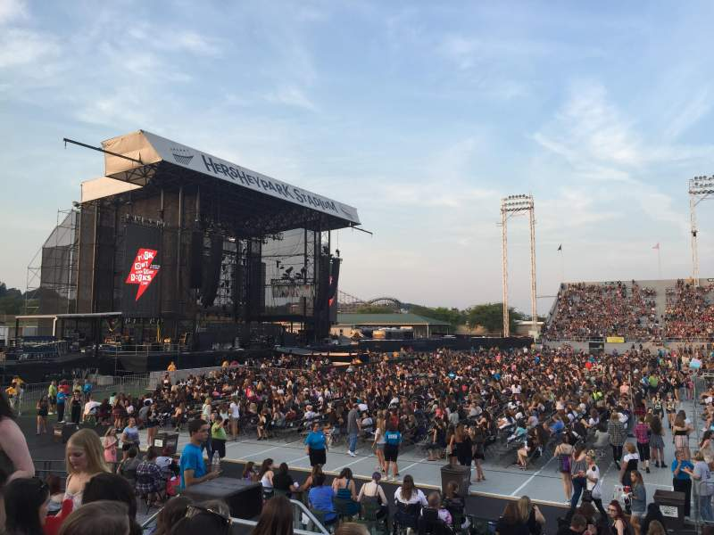 Seating view for Hershey Park Stadium Section 7 Row L Seat 26