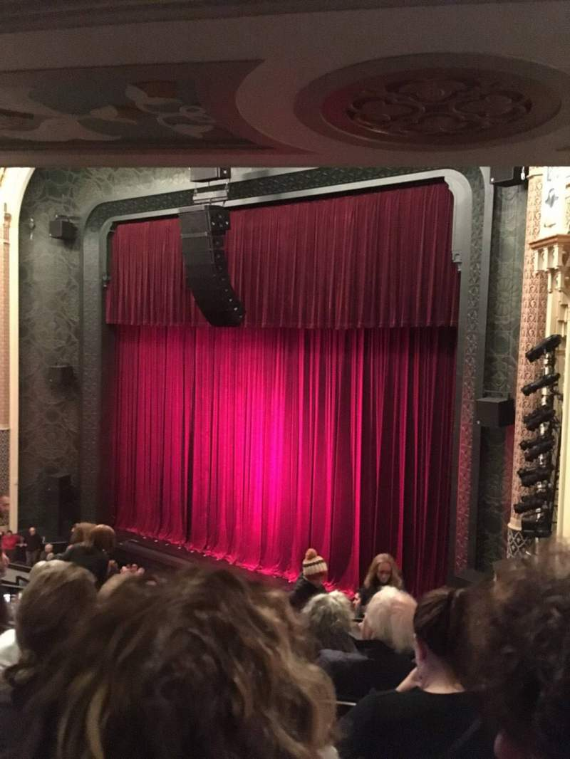 Seating view for Mainstage at the New York City Center Section Mezzanine Right Row E Seat 26