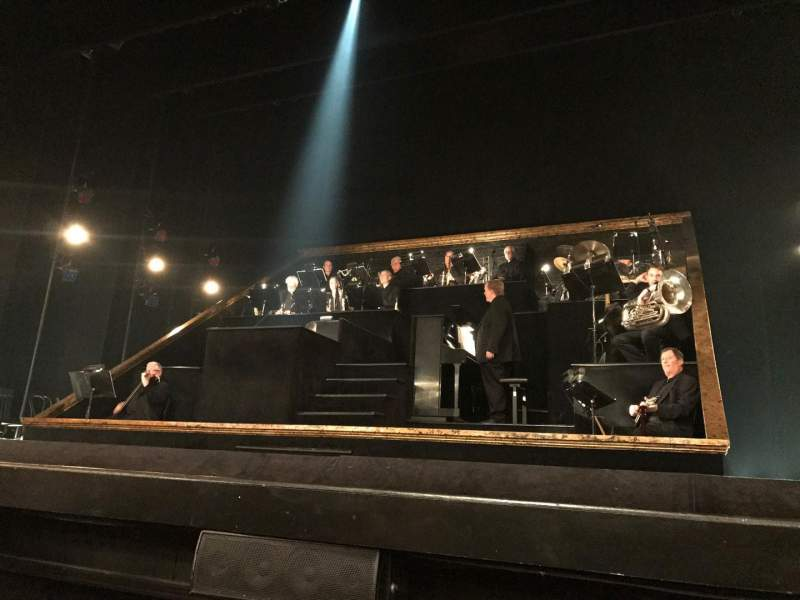 Ambassador Theatre, section: ORQ, row: CC, seat: 114