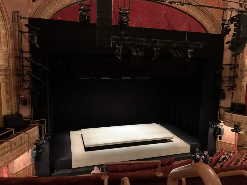 Seating view for Ethel Barrymore Theatre Section Front Mezzanine L Row D Seat 1