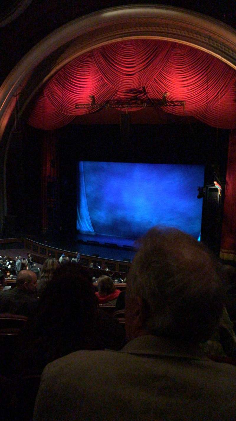 Seating view for Dolby Theatre  Section Mezzanine 1R Row H Seat 11