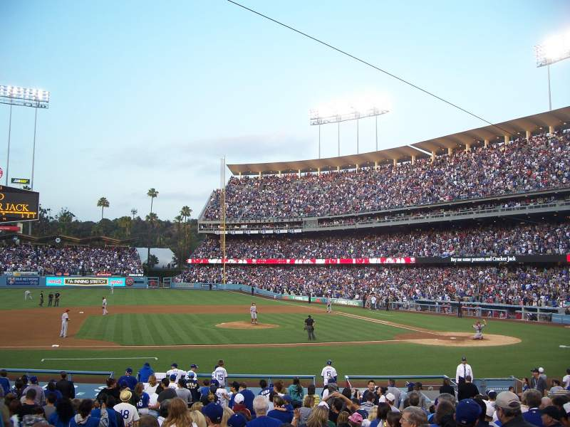 Seating view for Dodger Stadium Section 19FD Row S Seat 6