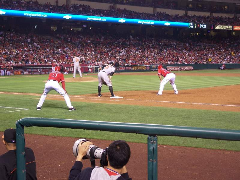 Seating view for Angel Stadium Section F126 Row C Seat 13