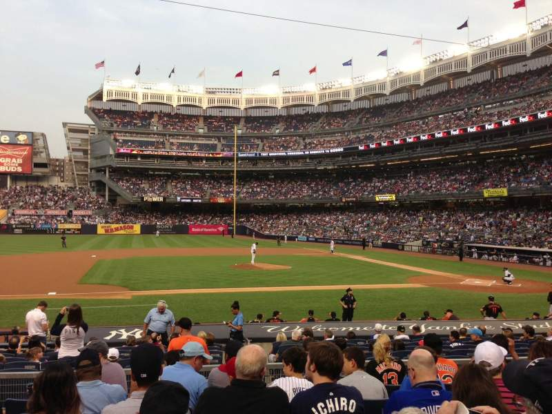 Seating view for Yankee Stadium Section 124 Row 18 Seat 11