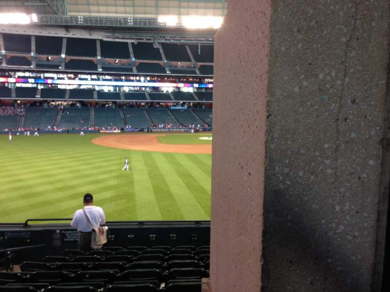 Seating view for Minute Maid Park Section 101 Row 10 Seat 5