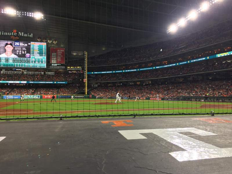 Seating view for Minute Maid Park Section 113 Row 5 Seat 6