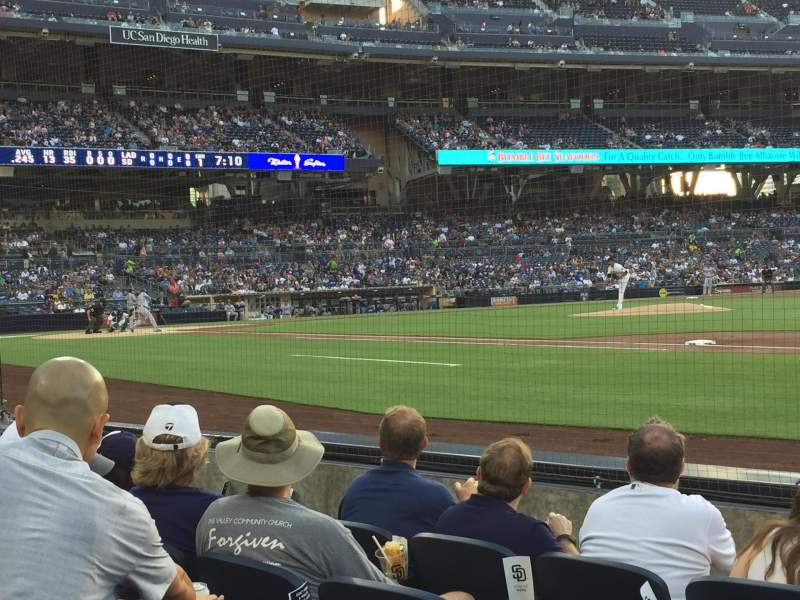 PETCO Park, section: 113, row: 5, seat: 6