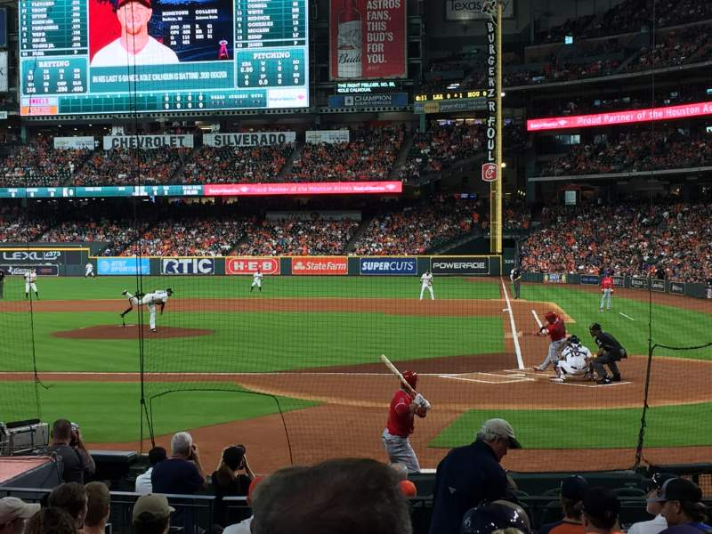 Seating view for Minute Maid Park Section 116 Row 15 Seat 11
