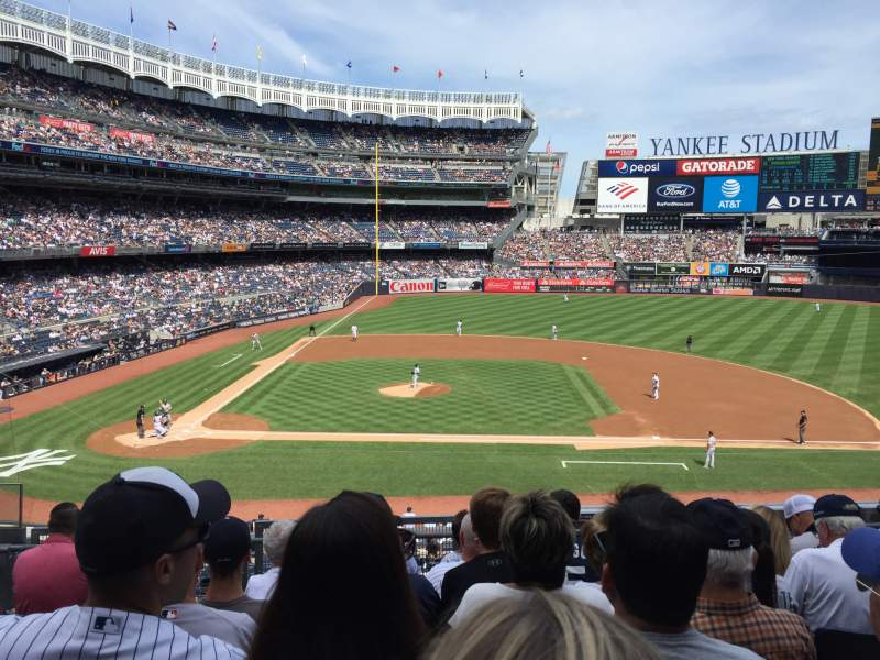 Seating view for Yankee Stadium Section 216 Row 7 Seat 15