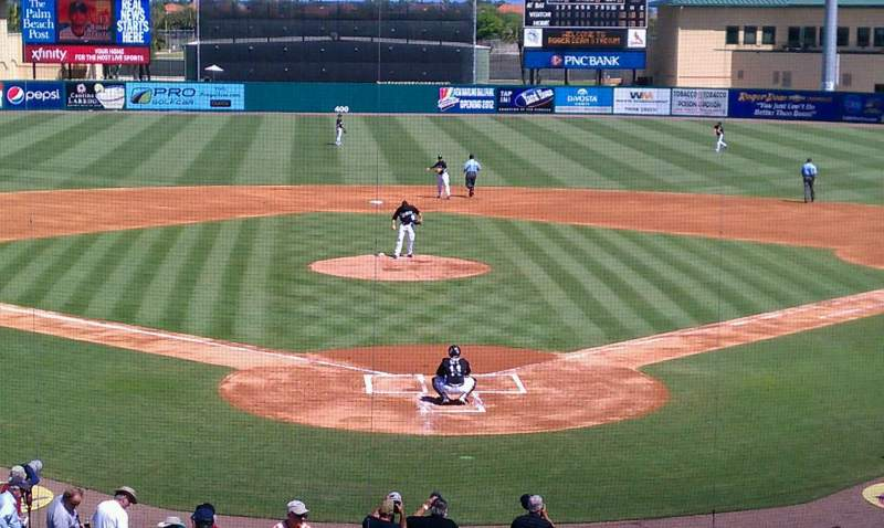 Seating view for Roger Dean Chevrolet Stadium Section 208